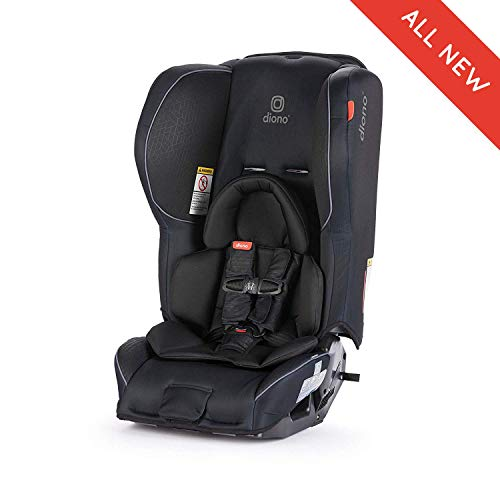 Diono Rainier 2AX Convertible Car Seat, for Children from Birth to 65 pounds, Black