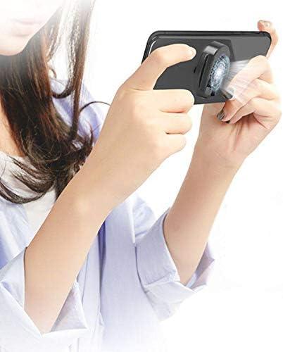 Gaoominy Handy K/ühl Kissen Gaming K/ühler K/ühler D?mpfer L/üfter K/ühlk?rper mit Telefon St?nder Halter