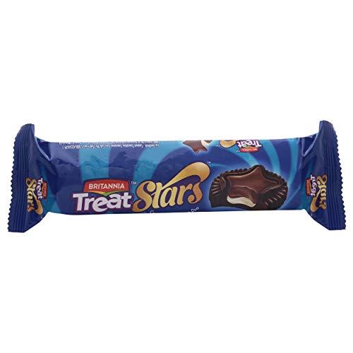 Britannia Treat Stars Biscuits - Creme & Milk Choco Duo, 100g (B07ZNTLYQ8) Amazon Price History, Amazon Price Tracker