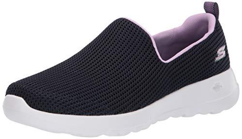 Skechers Women's GO Walk JOY-15637 Sneaker, Navy/Lavender, 9.5 M US
