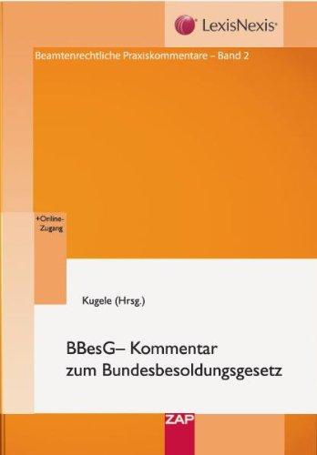 BBesG - Kommentar zum Bundesbesoldungsgesetz