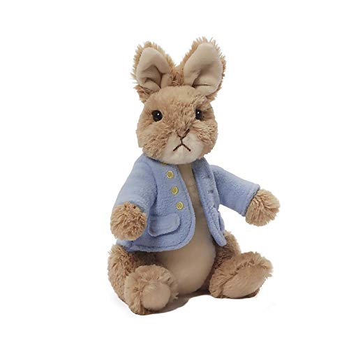 GUND Classic Beatrix Potter Peter Rabbit Stuffed Animal Plush, 9""