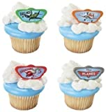 24 Disney's Planes Cupcake Rings by DecoPac