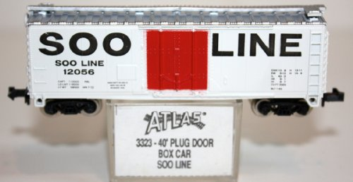 N Scale ATLAS 40 Foot Box Car