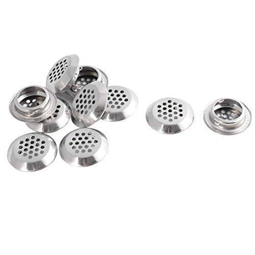 DealMux metal fundo perfurado forma redonda Air Vents ventilação Grelhas 29 milímetros Dia 10 Pcs (Redondo Air)
