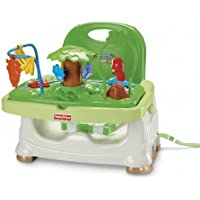 Fisher-Price Rainforest Healthy Care Booster Seat (Green)