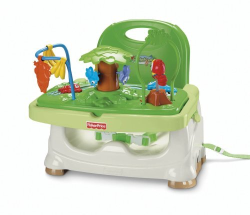 - Fisher-Price Rainforest Healthy Care Booster Seat