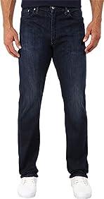 Levi's Mens Men's 513¿ Slim Straight Fit Moonlight Worn Jeans