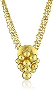 "Ben-Amun Jewelry ""Gold Ball Collection"" Gold Ball Pendant Necklace"