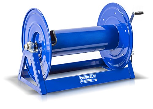 Coxreels 1125-4-200-BYXX Hand Crank Storage Hose Reel Multiple Hose Cap No ()