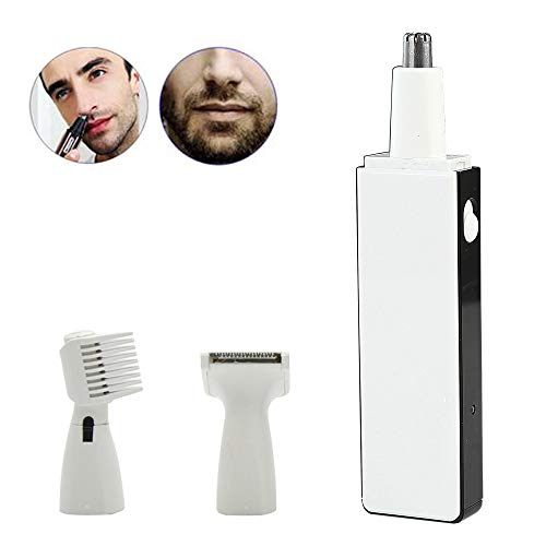ZYJFP Electric Nose Hair Trimmer, 3-in-1 Mini Multi-Function Razor Nose Hair Razor Eyebrow Shaping Set, -