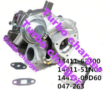 GOWE Turbo charger fit for NISSAN 14411-62T00 14411-51N00 14411-09D60 047-263 Review