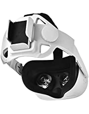 Ahroy Elite Strap for Oculus Quest 2, Oculus Quest 2 Accessories, Adjustable Head Strap Headband Enhanced Support and Reduce Head Pressure in VR , Comfortable Protective Strap for Oculus Quest 2