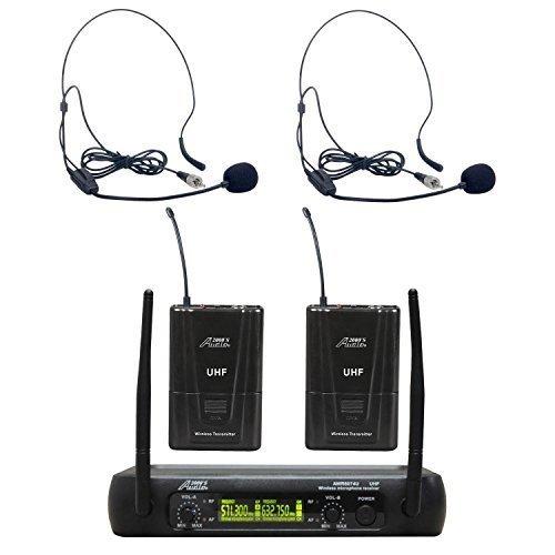 Uhf Dual Channel Wireless Microphone - 6