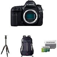 Canon EOS 5D Mark IV Full Frame Digital SLR Camera Body Travel Bundle