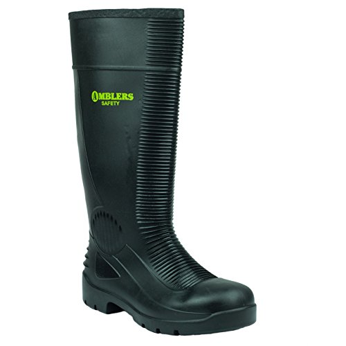 FS100 Black Wellingtons Amblers Mens Steel Safety w5CXqA0