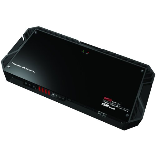 Power Acoustik Bamf Series Bamf5500/1d 5,500 Watt Mono-block Car Audio Amplifier with Built in Crossovers and Advanced Features