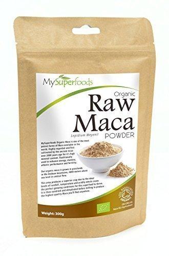 Poudre de Maca bio (500g)   Plus haute qualité disponible   Certifié biologique par la Soil Association   Par MySuperfoods