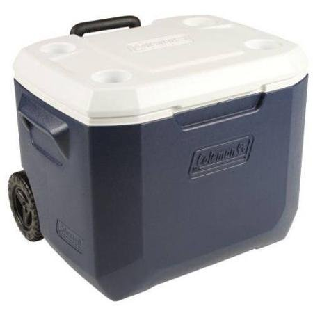 (Coleman Xtreme 5 day 50 Quart Rolling Cooler DARK BLUE)