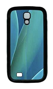 Samsung S4 Case,VUTTOO Cover With Photo: Nature Leaves For Samsung Galaxy S4 I9500 - TPU Black