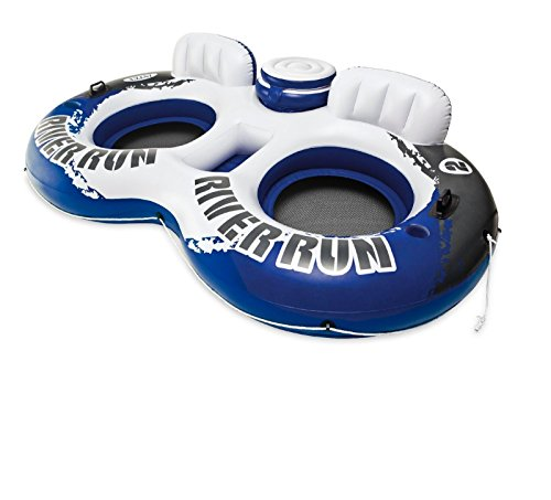 "Intex 58837EP River Run II Sport Lounge, Inflatable Water Float, 951/2"" x 62"""
