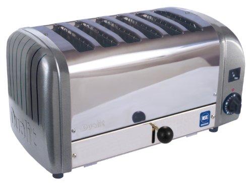 Cadco 6-Slot Toaster, 220-Volt