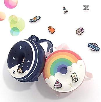 Rainbow Dream ZoyZ Zoii Kids 3D Donut Backpack Cute Doughnut Schoolbag Creative Baby Kids Backpack