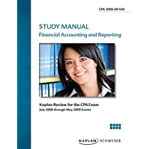 CPA Exam Review Flashcards: Financial Accounting and Reporting 2008/2009 (CPA Exam Study Manual)