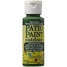 DecoArt DADCP13 Patio Paint Acrylic Sprout Green 2oz