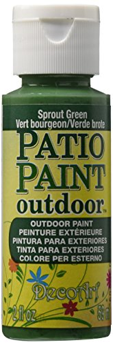 - DecoArt DADCP13 Patio Paint Acrylic Sprout Green 2oz