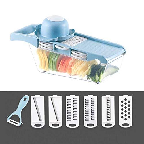 ☀ Dergo ☀Vegetable Slicer ,Multi-function Potato Carrot Manual Vegetable Cutter Grater Kitchen Tool