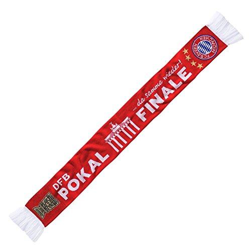 FC Bayern München Pokalfinale 2016 Fanschal Schal (Rot, one size)