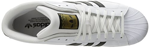 Adidas Herren Promodel Haut Sommet Blanc / Noir / Blanc