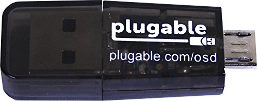 Plugable USB MicroSD Card Reader for Phone, Laptop...