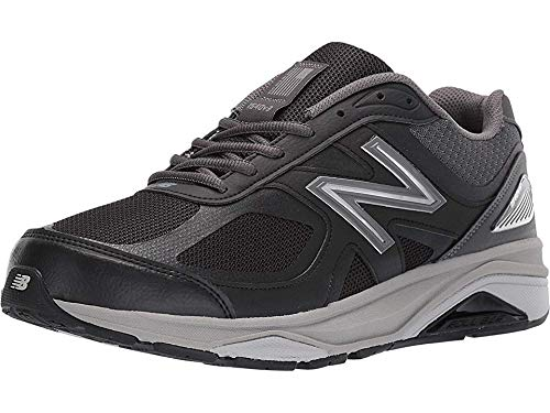 New Balance Men's 1540v3 Running Shoe, Black/Castlerock, 7 M US