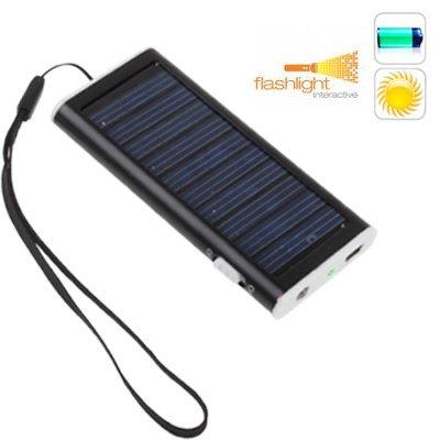 Cargador Universal Solar 8 conectores Bateria 1350 mAh ...