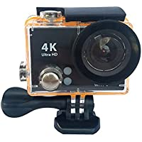4K Full UItra HD WIFI Remote Control 2.0'' LCD Waterproof Diving Sports Action Camera MDV2100(black)