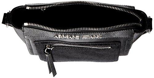 Armani Jeans 9221046a728 Schultertaschen Schwarz (Nero 00020) fJWZQtlYM