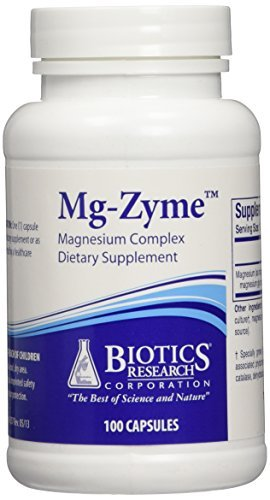 Biotics Research Mg-Zyme -- 100 Capsules
