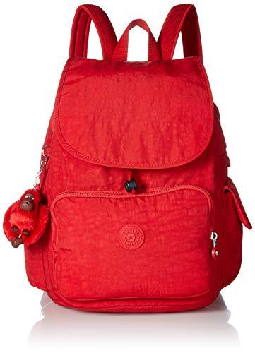 Kipling Women's City Pack Medium Backpack, Cherry - Cherry Kipling