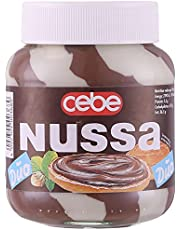 Cebe Nussa Duo Milk and White Chocolate Spread - 400 gm