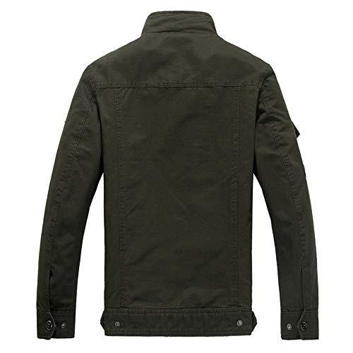 Abbigliamento Caldo color Sci Cammina Per Impermeabile Giacche Da Xxxl Size Giacca Diverse Black Con Uomo Antivento Invernale Montagna Tasche Green Auming H87xanqZq