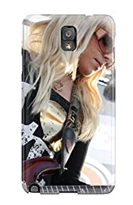 DonnaCarlk Galaxy Note 3 Hybrid Tpu Case Cover Silicon Bumper Orianthi Music Photos