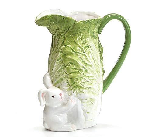 - Burton and Burton Cabbage Bunny Pitcher