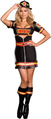 Smokin' Firefighter Adult Costume - Plus Size 3X/4X]()