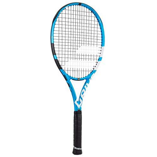 Babolat Pure Drive Team Black/Blue/White Tennis Racquet - Lighter Frame for Better Handling
