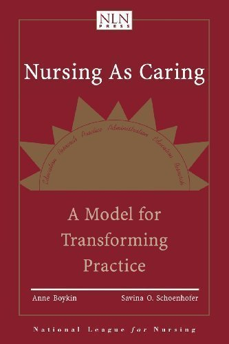 Nursing As Caring: A Model For Transforming Practice by Boykin, Anne Published by Jones & Bartlett Learning 2nd (second) edition (2001) Paperback