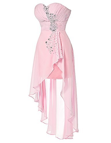 Fanciest Damen Kleid Rose A Linie wxFCw06q