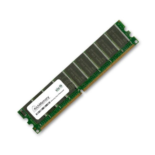 (Arch Memory 1GB 240-Pin DDR2 ECC Udimm RAM Interchangeable with KVR800D2E6/1G Anti-Static Gloves)