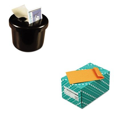KITLEE40100QUA43362 - Value Kit - Quality Park Redi-Seal Catalog Envelope (QUA43362) and Lee Ultimate Stamp Dispenser (LEE40100) by Quality Park
